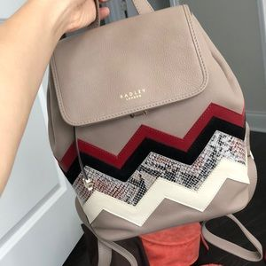 Radley London designer mini backpack